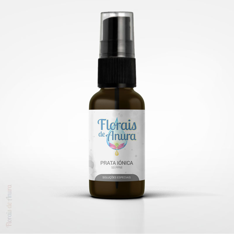 Prata Iónica 50ppm - 20ml